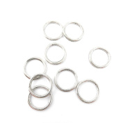 10 Pieces Antique Silver Jewellery Making Charms Vintage Jewellery Supply Crafting Bracelet UGQ05 Jump Rings 19mm