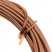 Artistic Wire Aluminium Craft Wire, 12 Gauge Thick, 12 Metre Spool, Anodized Copper Finish