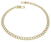 k-craft BG13 50cm Purse Metal Chain Strap Replacement Gold Crossbody Shoulder Strap Handbag