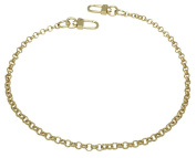 k-craft BG02 50cm Purse Metal Chain Strap Replacement Gold Crossbody Shoulder Strap Handbag