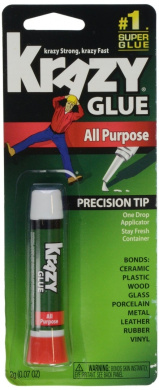 Krazy Glue KG58548R Instant Krazy Glue All Purpose Tube 0ml