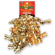 CURLED RIBBON BOW GOLDS #34063, CASE OF 192