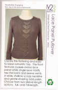 Lace Panel Pullover - Y2Knit Knitting Pattern