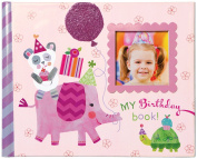 C.R. Gibson Gibby and Libby Keepsake Photo Book, Birthday Girl