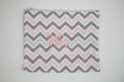 Caught Ya Lookin' Wet Bag, Pink/Grey/White, One Size