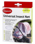Clippasafe Pram & Pushchair Universal Insect Net (One Size, White) by Clippasafe Ltd