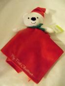 Baby Starter Snuggle Buddy Christmas Bear