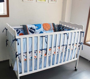 New Circo 7 Pieces Baby Boy Sport Crib Bedding Set