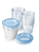 Philips AVENT SCF612/10 VIA Breast Milk Storage Cups by Philips AVENT