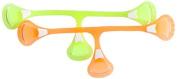 Snappi Cloth Nappy Fastener, Dayglo Yellow Plus Orange, Size 1