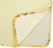 Multi-Use Pad Waterproof Bamboo Viscose Terry Cloth,Light Yellow