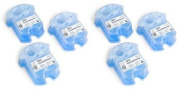6 Pack Braun Syncro Shaver System Clean & Renew Cartridge Refills CCR3