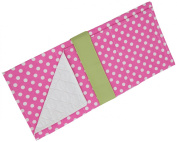 Caught Ya Lookin' Baby Changing Pad, Pink/White/Green
