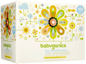 Babyganics Baby Wipes Unscented 400ct