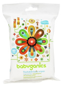 BabyGanics - Flushable Baby Wipes Fragrance Free - 60 Wipe