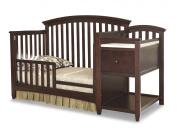 Imagio Baby Montville Toddler Guard Rail, Chocolate Mist