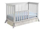 Sealy 3-in-1 Bella Standard Toddler Rail Conversion Kit, Tranquilly Grey