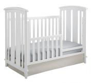 Kolcraft 3-in-1 Elan Crib Conversion Kit, White