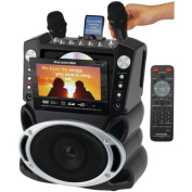 EMERSON GF829 DVD/CDG/MP3G Karaoke System with 18cm TFT Colour Screen