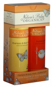 Natures Baby Organics Vanilla Set, Vanilla Tangerine, 350ml Each