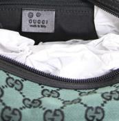 Gucci Canvas Green Joy Boston Handbag Bag 272375