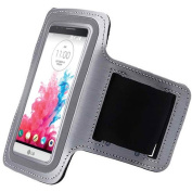 Gray ArmBand Workout Case Cover For LG G3 Vigor