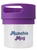 Munchie Mug Snack Cup 350ml Purple