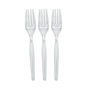 Clear Party Forks