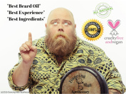 Beard Oil and Natural Conditioner for Best Results | Fragrance Free | Handcrafted Coconut and Organic Argan Oil From Morocco | Non-Comodogenic / Non Greasy Formula, No Clogged Pores