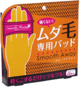 It is not painful! Unwanted hair pad smooth away