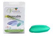 Vcovers Single SIZE C in Green, female intimate cover for shaving, waxing, colouring, spray tanning. MAY SPECIAL