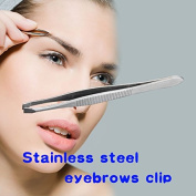 ACE Lady Shape Tool Stainless Steel Eyebrow Clip Tweezer Beauty Favour