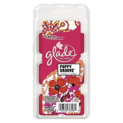 GLADE SEASONAL SPRING WAX MELTS - Poppy Groove 6ct 90ml