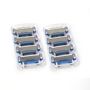 Every Man Jack - 8 Razor Cartridges for Manual Shaving Razor