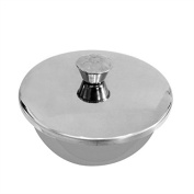 Metal Shaving Bowl with Lid bowl by Smallflower