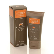 Mandarin and Patchouli Travel Shave Cream 70ml shave cream by St. James of London
