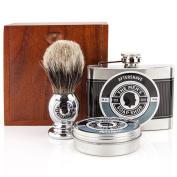 The Mens Soap Shop Alpha Smooth Shaving Set Bergamot