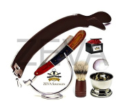 Beautyfull Straight Razor Shaving Set From ZEVA