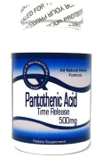 Pantothenic Acid Time Release 500mg 100 Capsules ^GLS