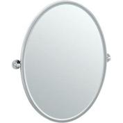 Gatco 4419FLG Cafe Framed Large Oval Mirror