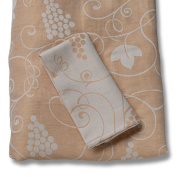 Italian Dinnerware - Bolgheri Rose Tablecloth/ Napkins - Handmade in Italy from our Collection