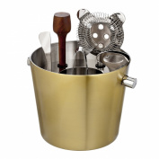 Marquis by Waterford Vim and Vigour Bar Tool Set, Gold