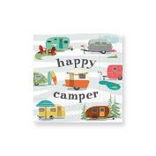 Design Design Happy Camper Cocktail Napkins