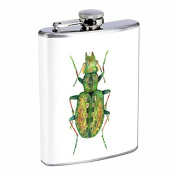 Perfection In Style Stainless Steel Flask Vintage Insects Design 007 240ml