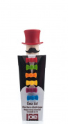 Joie MSC 49733 Hat Topper and Bow Tie Wine Charm, Set of 6, Assorted Colours