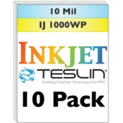 Inkjet Teslin® Synthetic Paper - 10 Sheets
