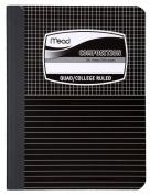 Mead Graph Composition Book, Square Deal, Black Marble, 19cm x 25cm
