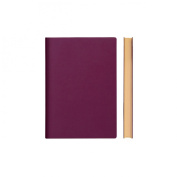 Daycraft Signature ARCHITECTURE Sketchbook - A6, Purple, BLANK PAGES - 15cm x 11cm