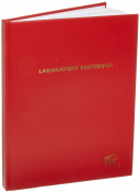 Heathrow Scientific HD8610D Laboratory Notebook, Red Lined Cover, 200 Pages, 20cm - 1.3cm Length x 28cm Height
