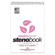 Roaring Spring Paper Products Paper Products Enviroshades Steno Books, Pink, 4 per Pack